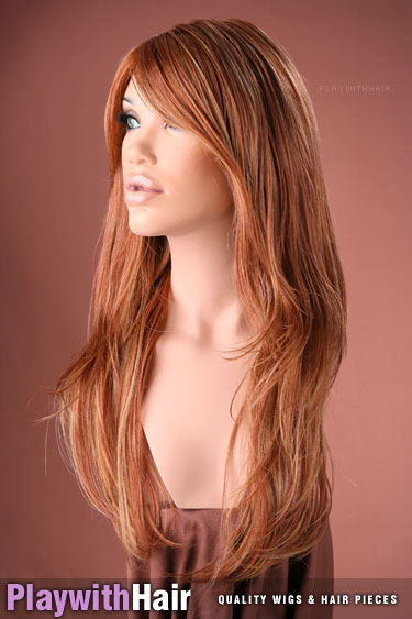 33rh27 Vivid Red Blonde Mix