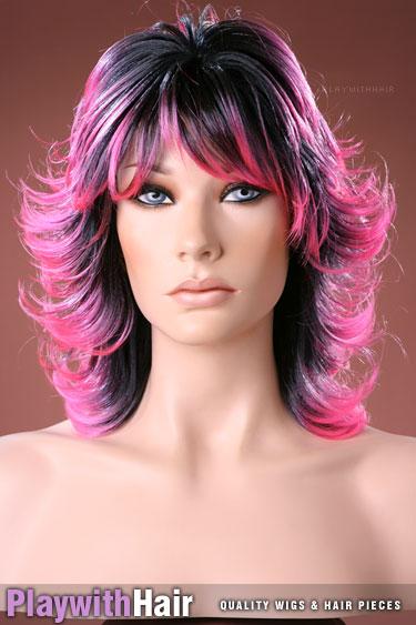 tt1b/hpink Black Pink Tips
