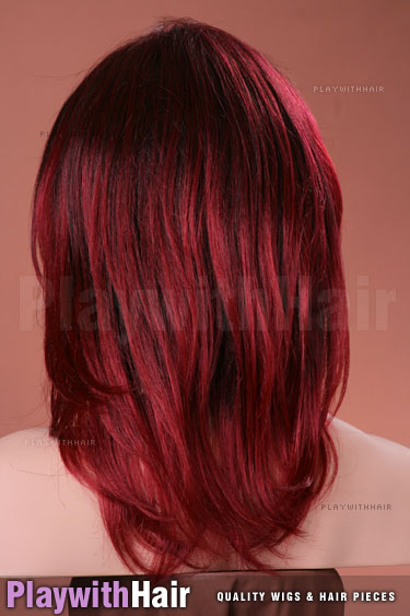 t1b/bur Black & Red Tips