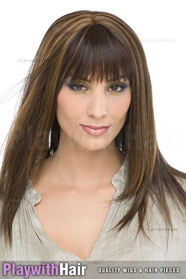 Sepia - Miranda Human Hair Blend Wig