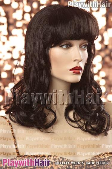 Sepia - Catherine Synthetic Wig