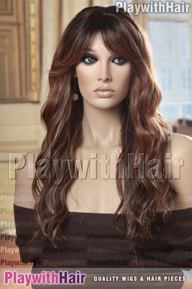 Sepia - Fantasia Heat Friendly Synthetic Wig