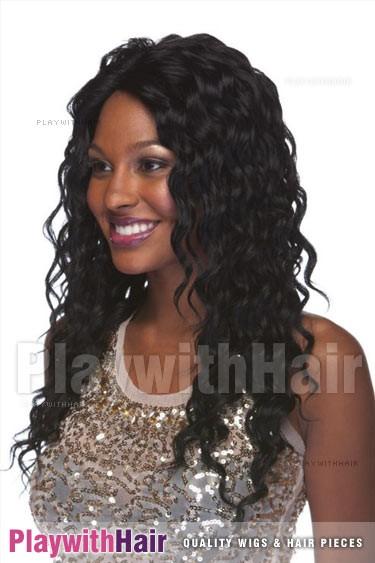 Sepia - Brenda Human Hair Blend Wig