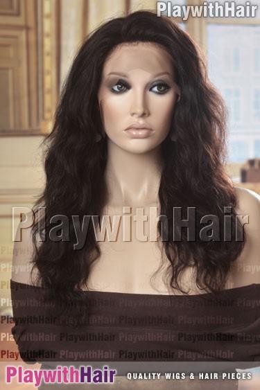 Sepia - Bambina Remy Human Hair Wig