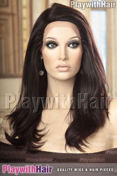 Sepia - Elaina Remy Human Hair Wig
