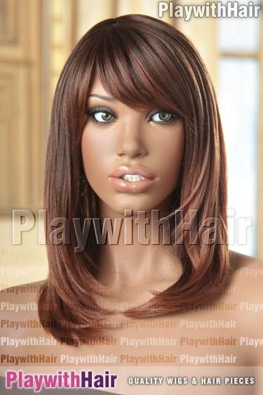 Sepia - Kiley Heat Friendly Synthetic Wig