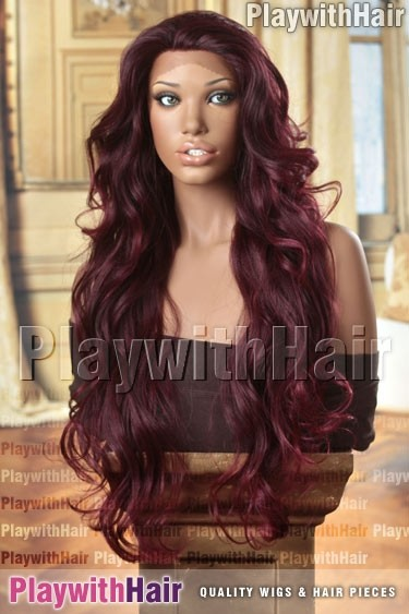 Sepia - Champagne Lace Front Synthetic Wig