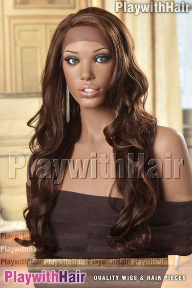 Sepia - Jezebel Lace Front Synthetic Wig
