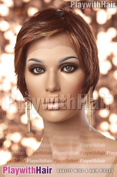 Sepia - Maui Lace Front Synthetic Wig