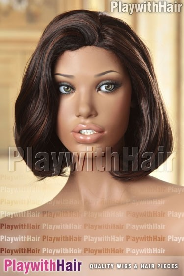 Sepia - Romance Synthetic Wig