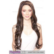 Sepia - Kim Lace Front Synthetic Wig