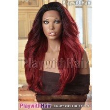 Sepia - Cameron Lace Front Synthetic Wig