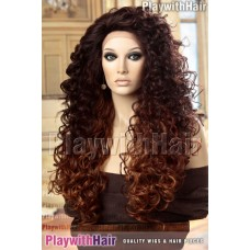 Sepia - Spring Lace Front Synthetic Wig