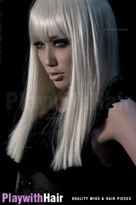 Forever Young - Straight Edgy Synthetic Wig