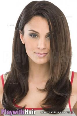 Sepia - Juliet Human Hair Blend Wig