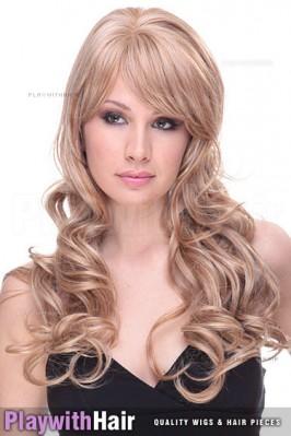 Sepia - Noelle Human Hair Blend Wig