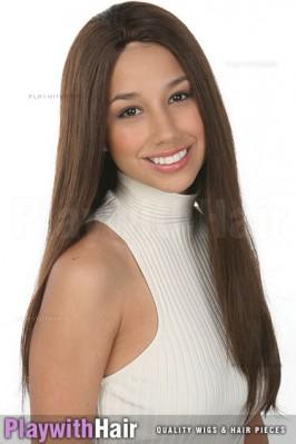 Sepia - Showgirl Human Hair Wig