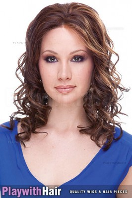 Sepia - Courtney Lace Front Synthetic Wig