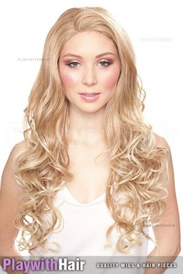 Sepia - Holiday Lace Front Synthetic Wig