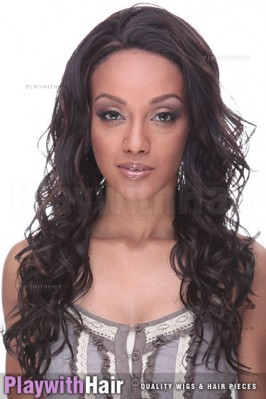 Sepia - Vogue Lace Front Synthetic Wig