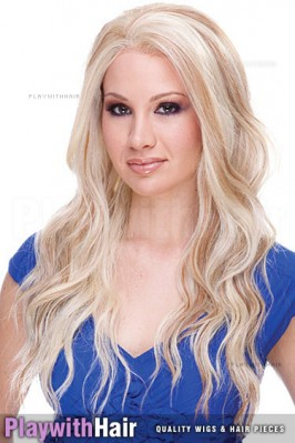 Sepia - Yvonne Lace Front Synthetic Wig