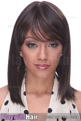 Sepia - Missy Heat Friendly Synthetic Wig