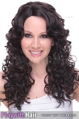 Sepia - Tyra Synthetic Wig