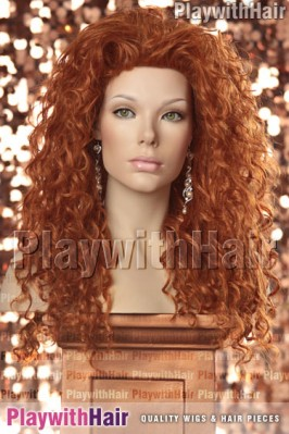New Look - Brave Princess Merida Costume Wig