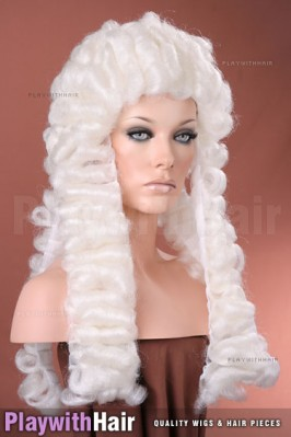 New Look - Judge Costume Wig