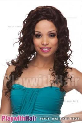 Sepia - Buena Human Hair Wig