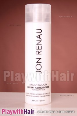 Jon Renau - Argan Smooth Luxury Conditioner For Human Hair Wigs 8.5oz / 250ml