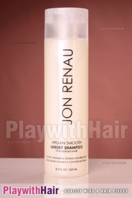Jon Renau - Argan Smooth Luxury Shampoo For Human Hair Wigs 8.5oz / 250ml
