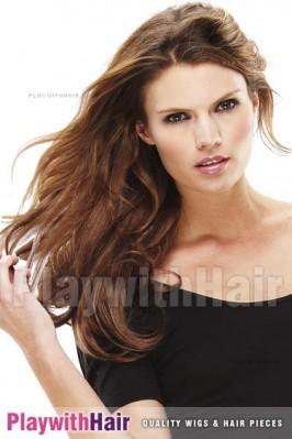 Jon Renau - EasiXtend 16inch 5 Pcs Wavy Heat Defiant Synthetic Hair Extension