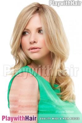"""Jon Renau - Top Form 12"""" Remy Human Hair Piece"""