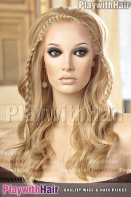 Forever Young - Lolita Long Side Braid Synthetic Wig