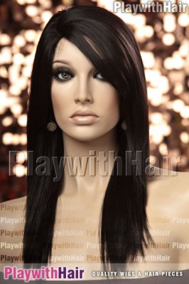 Sepia - Alyssa Heat Friendly Synthetic Wig