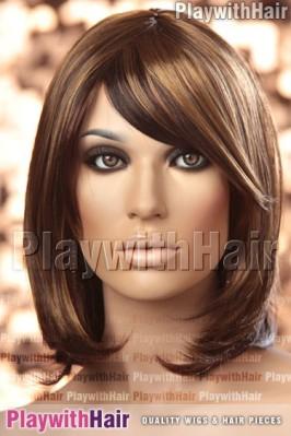 Sepia - Anika Synthetic Wig