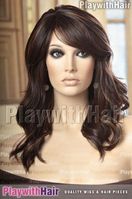 Sepia - Constance Heat Friendly Synthetic Wig