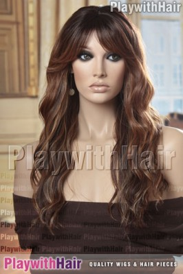 Sepia - Fantasia Heat Friendly Synthetic Wig