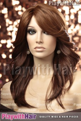 Sepia - Andy Human Hair Blend Wig