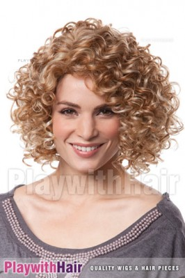 Sepia - Caliente Human Hair Blend Wig