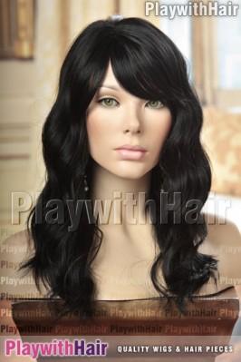 Sepia - Marisa Human Hair Blend Wig