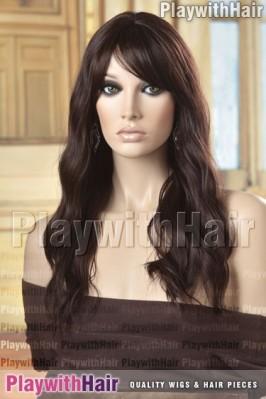 Sepia - Monica Human Hair Blend Wig