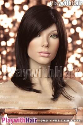 Sepia - Nadiah Human Hair Blend Wig