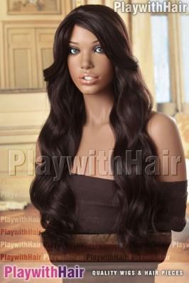 Sepia - Payton Human Hair Blend Wig