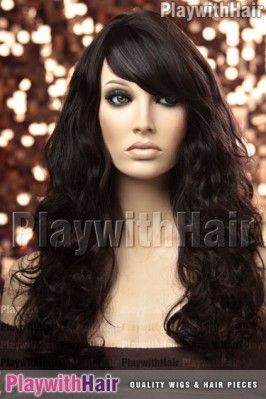 Sepia - Cherry Remy Human Hair Wig