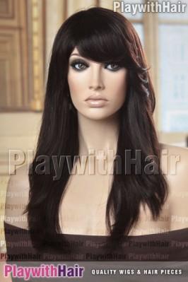 Sepia - Freesia Remy Human Hair Wig