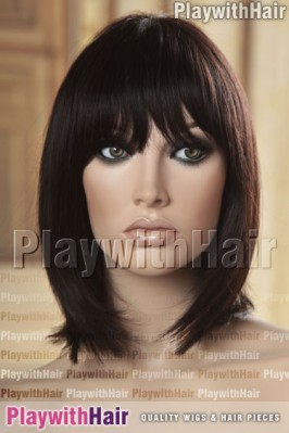 Sepia - Merced Remy Human Hair Wig