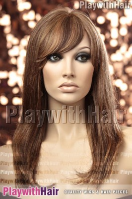 Sepia - Marsha Human Hair Wig