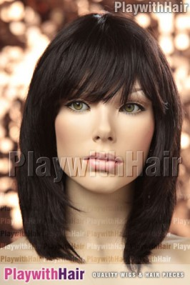 Sepia - Paige Remy Human Hair Wig